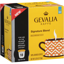 Gevalia Signature Blend 100% Arabica Coffee K-Cups