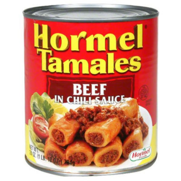 Hormel Beef In Chili Sauce Tamales