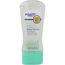 Equate Aloe Vera & Vitamin E Baby Oil Gel