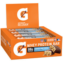 Gatorade Recover Cookies and Creme Whey Protein Bar