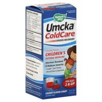 Nature's Way Umcka Cold Care Children's Cherry Flavor Syrup