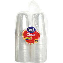 Great Value Clear 16 oz Cups