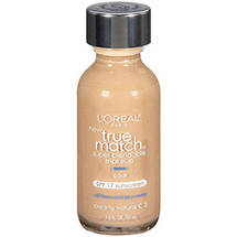 L'Oreal Paris True Match Super-Blendable Liquid Make-Up Creamy Natural