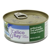 Calico Bay Grilled Tuna And Whitefish In Gravy Cat Food