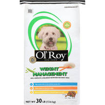 OlRoy Weight Management Dog Food