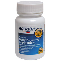 Equate Fast-Acting Dairy Digestive Supplement