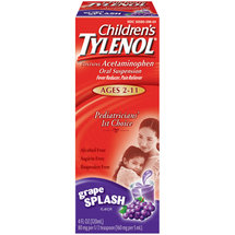 Tylenol Grape Splash Flavor Children's