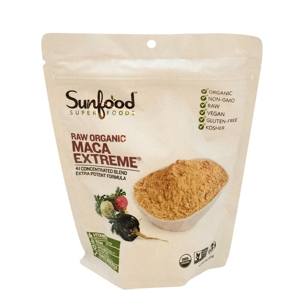 Sunfood Nutrition Maca Extreme