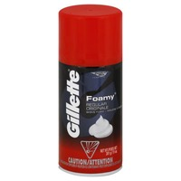 Gillette Foamy Regular Shave Cream 11oz Male Shave Prep