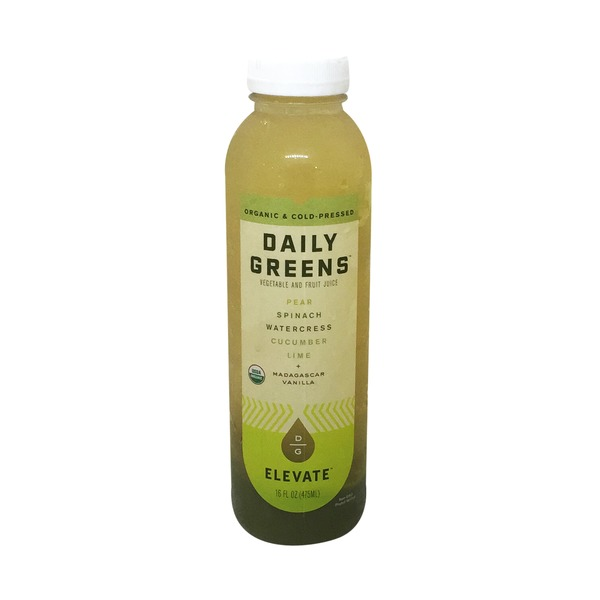 Daily Greens Elevate Vegetable and Fruit Juice