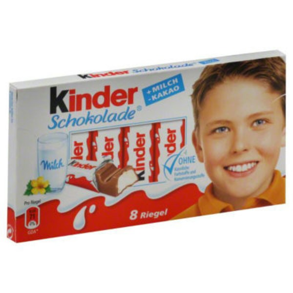 Kinder Milk Filled Chocolate