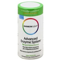 Rainbow Light Advanced Enzyme System Vcaps - 180 CT