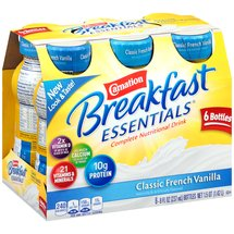 Carnation Breakfast Essentials Classic French Vanilla Complete Nutritional Drink