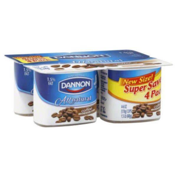 Brand Dannon Classic All Natural Coffee Yogurt