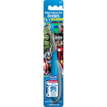 Oral-B Pro-Health Stages Kids Manual Toothbrush featuring Marvel Avengers with Disney MagicTimer App