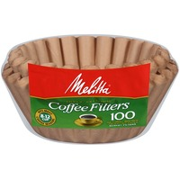 Melitta Natural Brown Paper 8-12 Cups Basket Coffee Filters