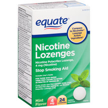Equate Nicotine Lozenges Mint Flavor Stop Smoking Aid
