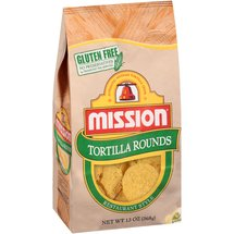 Mission Rounds Restaurant Style Tortilla Chips