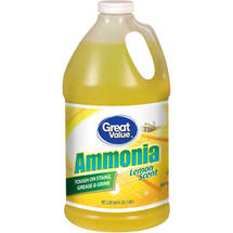 Great Value Ammonia Lemon Scent