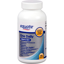 Equate One Daily Mens 50+ Multivitamin
