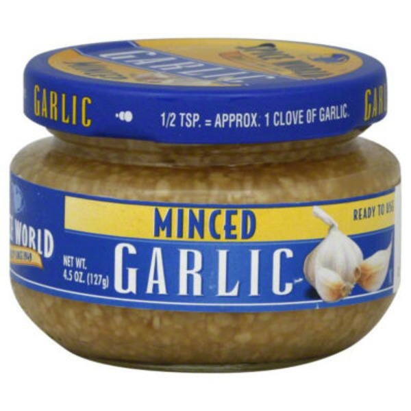 Spiceworld Minced Garlic