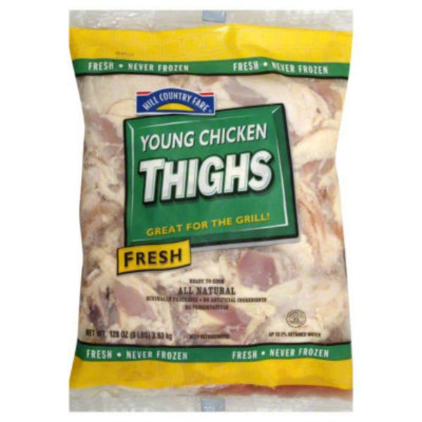 Hill Country Fare All Natural Young Chicken Thighs