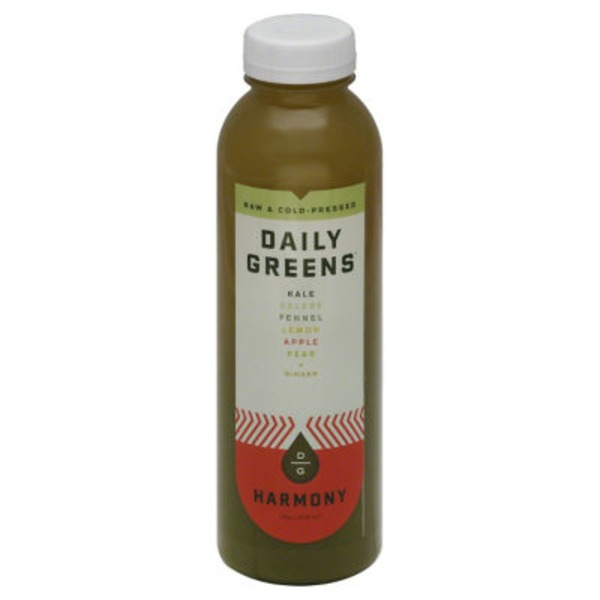 Daily Greens Organic & Cold-Pressed Vegetable & Fruit Juice Harmony