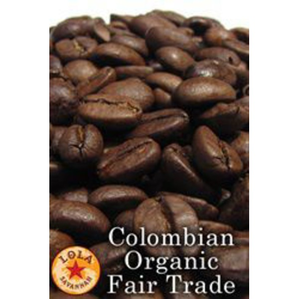Lola Savannah Organic Columbian Whole Bean Coffee