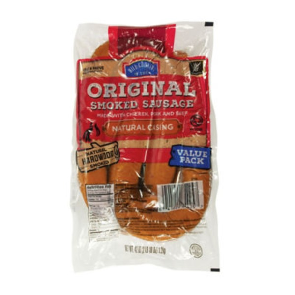Hill Country Fare Original Smoked Sausage Value Pack