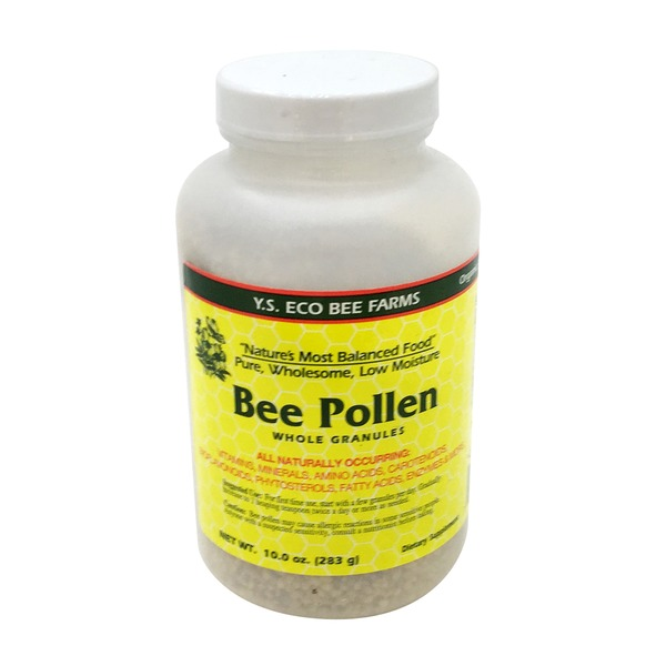 Y.S. Organic Bee Farms Bee Pollen Whole Granules