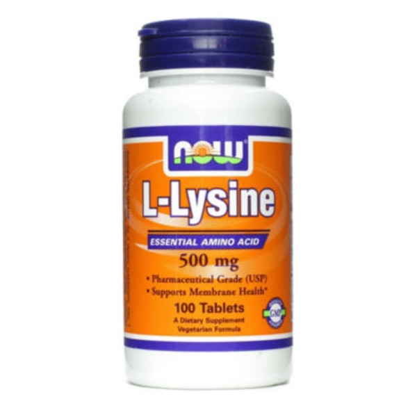 Now L Lysine 500 Mg