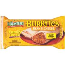 El Monterey Bean & Cheese Burritos 8 Ct/32 Oz