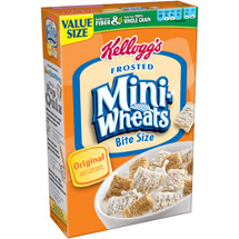 Frosted Mini-Wheats Bite Size Cereal