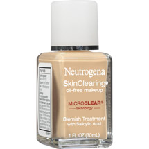 Neutrogena SkinClearing Oil-Free Makeup Honey Classic Ivory