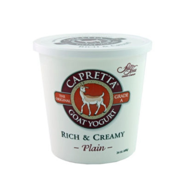 Capretta Rich & Creamy Plain Yogurt
