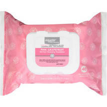 Equate Beauty Pink Grapefruit Oil-Free Cleansing Towelettes