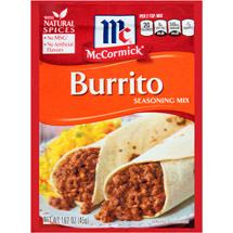 McCormick Burrito Seasoning Mix