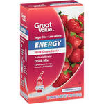 Great Value Wild Strawberry Drink Mix