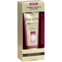 Jergens BB Body Perfecting Skin Cream Medium-Deep Skin Tones7.5 fl oz