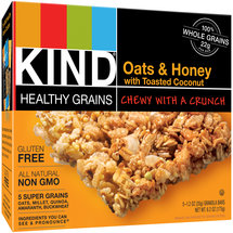 KIND Healthy Grains Bars Oats & Honey with Toasted Coconut