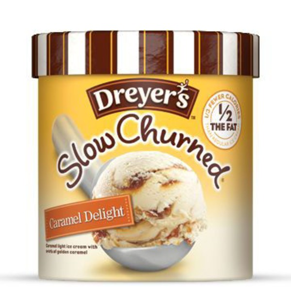 Edy's Slow Churned Caramel Delight Light Ice Cream