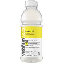 Glaceau vitaminwater Squeezed Lemonade Nutrient Enhanced Water Beverage