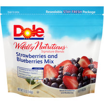 Dole Wildly Nutritious Strawberries and Blueberries Mix Mixed Fruit
