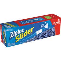 Ziploc Slider All Purpose Gallon Storage Bags