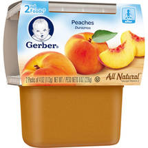Gerber 2nd Foods Peaches Baby Food