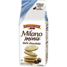 Pepperidge Farm Milano Minis Dark Chocolate Cookies