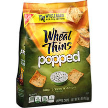 Nabisco Wheat Thins Popped Sour Cream & Onion Popped Chips