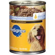 Pedigree Chopped Combo W/ Chicken Beef & Liver Traditional Ground Dinner