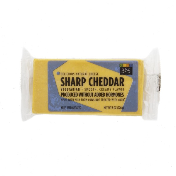 365 Sharp Cheddar Cheese Block
