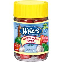 Wyler's Reduced Sodium Beef Bouillon Cubes